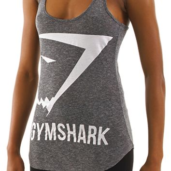 GymShark Emblem Tank Top - Grey