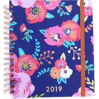 3 Happy Hooligans: 2019 Planner {Blue Floral}