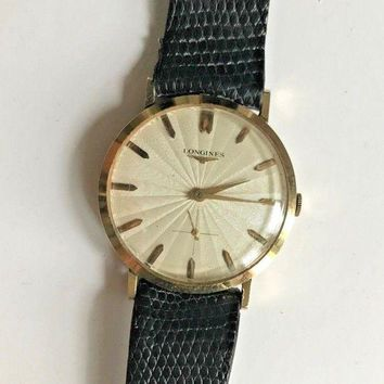 GTOW Longines Vintage Automatic Mens Watch 1960s 10k gold filled
