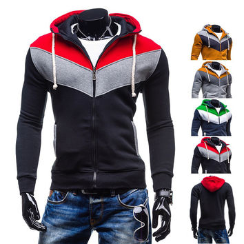 Stylish Men Fashion Hoodies Jacket [6528750659]