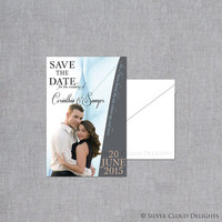 Save the Date Magnets - Wedding Save the Date - Custom Photo Save the Dates - Save the Date Photo Announcements with Magnet Backing