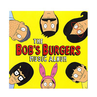 Bob's Burgers - The Bob's Burgers Music Album Triple LP + 7 Inch Vinyl Hot Topic Exclusive