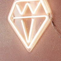Diamond Neon Sign | Urban Outfitters