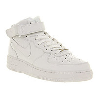 Nike Air Force 1 Mid White - Unisex Sports