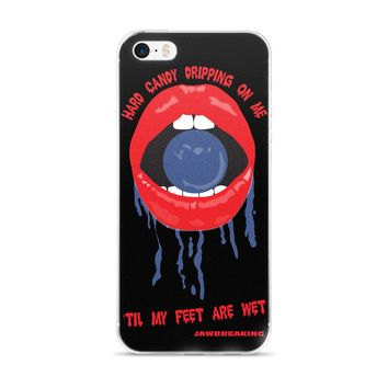 Drippy Lips iPhone 5/5s/Se, 6/6s, 6/6s Plus Case