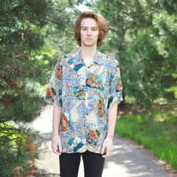 90's Reyn Spooner Button-Up Hawaiian Shirt