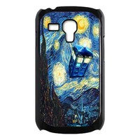 Van Gogh Tardis Doctor who Starry night Samsung Galaxy S3 mini Case