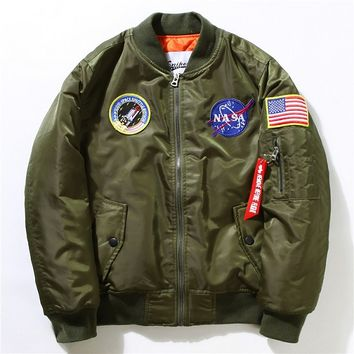 Indie Designs NASA Bomber Ma-1 Jacket