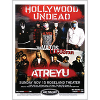 Hollywood Undead - Concert Promo Poster