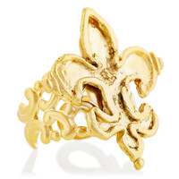 Fleur-de-Lis Ring, Stone & Novelty Rings