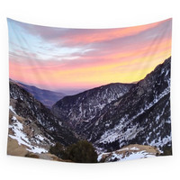 Society6 Fantastic Mountains Wall Tapestry