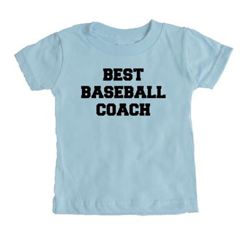 Best Baseball Coach  Baby Tee