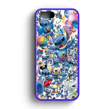 Stitch Disney Collage iPhone 5 Case iPhone 5s Case iPhone 5c Case