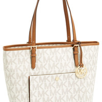 'Large Jet Set' Signature Snap Pocket Tote