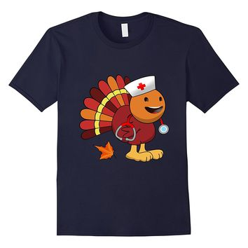 Nurse Emoji Turkey shirt smiling face open mouth smiling eye