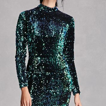 Rehab Sequined Bodycon Dress
