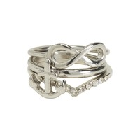 Anchor Midi Ring 3-Pack