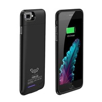 Charger Case Power Case For Iphone7 Plus/ Iphone 6(s)plus 5.5' 4200mah Battery Case Musttrue Magnet Bracket Cover Battery Case For Iphone7plus Backup Battery Power Bank Charger Case