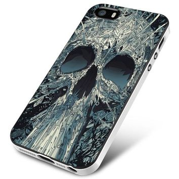 Abstract Skulls Artwork iPhone 5 | 5S | 5SE Case Planetscase.com