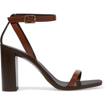 Saint Laurent - Loulou leather sandals