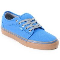 Vans Chukka Low Blue Canvas & Gum Shoes