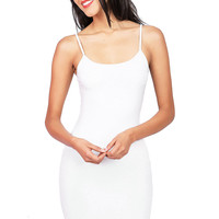 Basic Cotton Cami Dress