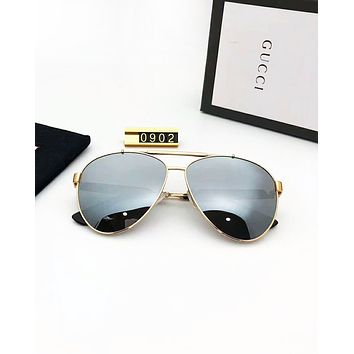 GUCCI 2019 new outdoor driving large frame polarized sunglasses #4