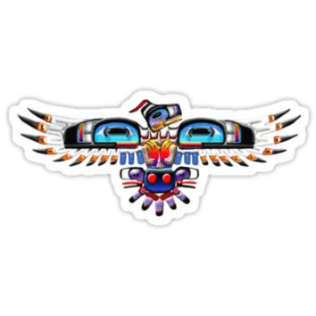 Native North American Bird symbol T-shirt