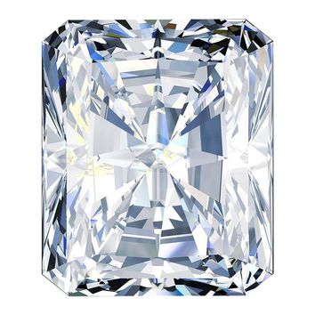 2ct Cut Corners Radiant Cut Diamond Veneer Loose Stone
