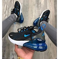 Nike Air Max 270 Fashion casual air cushion shoes Men's shoes