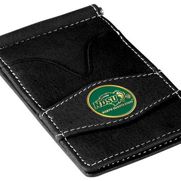 North Dakota State Bison Player's Leather Wallet