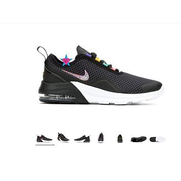 Bling Shoes for Girls | Nike Max Motion 2 Black | 3.5-7