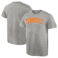 Men's Gray Tennessee Volunteers Basic Arch T-Shirt