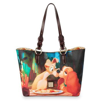 Disney Dooney & Bourke Lady and the Tramp Tote Bag New with Tags