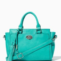 Tasseled Turnlock Satchel | Fashion Handbags | charming charlie