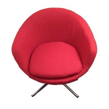 Magnificent Best Vintage Swivel Chair Products On Wanelo Short Links Chair Design For Home Short Linksinfo