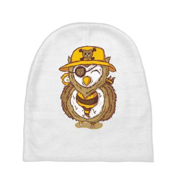 pirate owl Baby Beanies