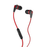 Skullcandy Ink'd 2 Mic'd Earbuds Black/Red One Size For Men 19949812601