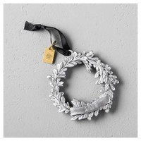 Wreath Ornament 2017 - Silver - Hearth & Hand™ with Magnolia