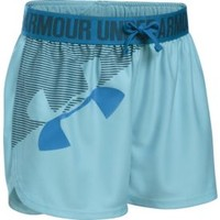 Under Armour Girls' Graphic Play Up Shorts | DICK'S Sporting Goods