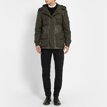 Belstaff - Abbotsford Leather-Panelled Jacket | MR PORTER