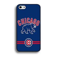 Iphone 6 (4.7 Inch) Case Artist MLB Chicago Cubs Baseball Team Logo Sports Unique Design Personalized Printed Tpu Hard Plastic Protection Phone Accessories Case Cover for Men by kobestar