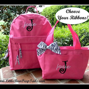 Shop Personalized Backpacks For Girls on Wanelo