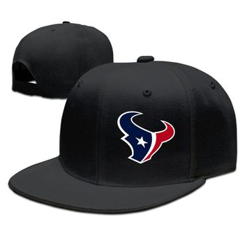 Houston Texans Printing Unisex Adult Womens Snapback Caps Mens Snapback Caps