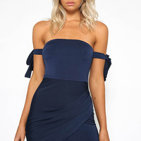 Tai Dress - Navy