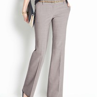 Modern Tropical Wool Trousers