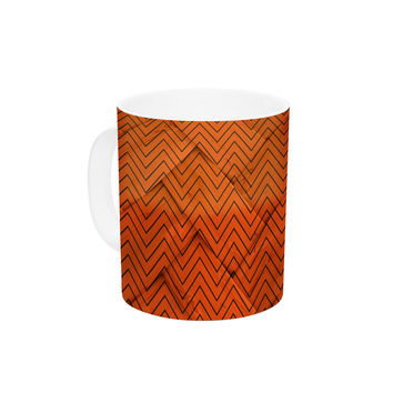 "KESS Original ""Chevron Weave"" Ceramic Coffee Mug"
