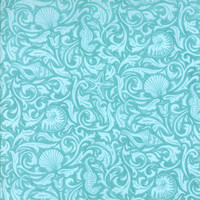 Seascapes by Deb Strain for Moda Fabrics, Caribbean Blue