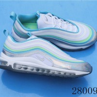 HCXX 19July 1030 Nike Air Max 97 BV6670-101 Flyknit Breathable Running Shoes