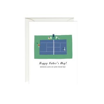 Tennis Father's Day Card